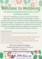 LC21-55SP Welcome to Wellbeing (Early Years & Infant Classes)