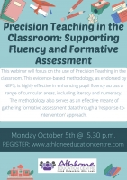 LC20-152 Precision Teaching in the Classroom: Supporting Fluency & Formative Assessment